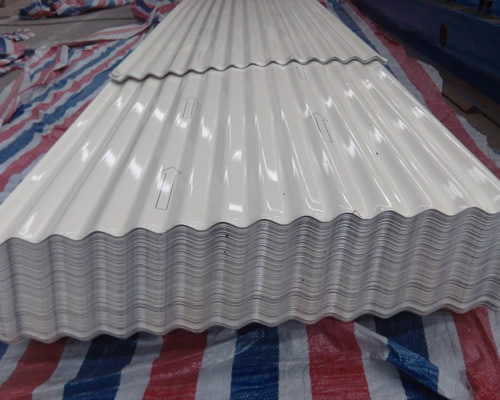 象牙白波纹铝板